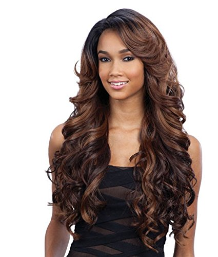 FreeTress Equal Lace Deep Invisible L Part Lace Front Wig KARISSA