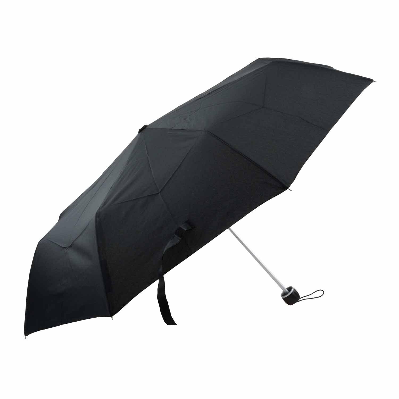 Paraguas automático negro