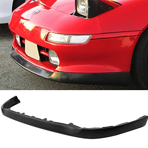 Front Bumper Lip Spoiler Fits 1991-1995 Toyota MR2 SW20 | Factory Style Black PU Front Lip Spoiler Bodykit Splitter Diffuser Air Dam Chin Diffuser Add on by IKON MOTORSPORTS | 1992 1993 1994 ()