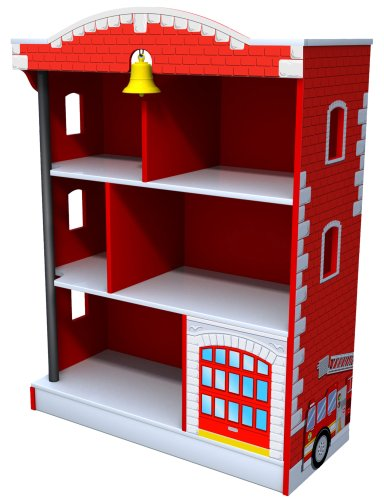 KidKraft Firehouse Bookcase by KidKraft