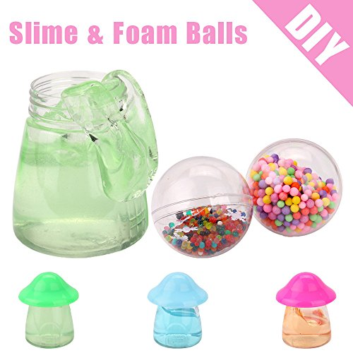 Kanzd Soft Scented Slime DIY Crafts colorful Foam Balls Made Of Styrofoam Sludge Toys (Random Color) - Creative Color Guard Costumes