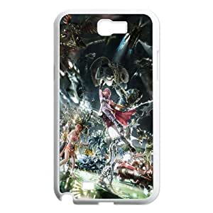 Final Fantasy Xiii Game Samsung Galaxy N2 7100 Cell Phone Case White TPU Phone Case SY_813136