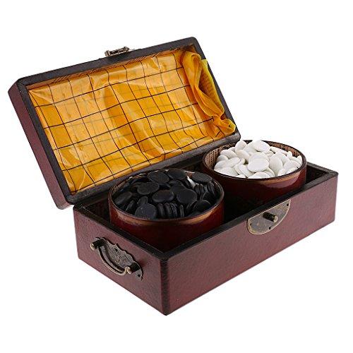 Baoblaze 中国伝統的 ボードゲーム 囲碁 木製 ボックス