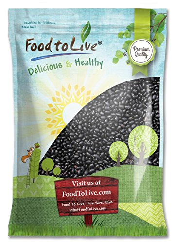 Food to Live Black Beans (Turtle) (25 Pounds) by Food to Live