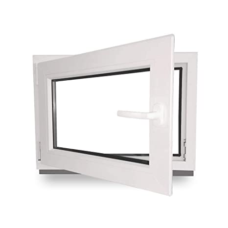 Berühmt Kellerfenster - Kunststoff - Fenster - weiß - BxH: 50 x 40 cm XV36