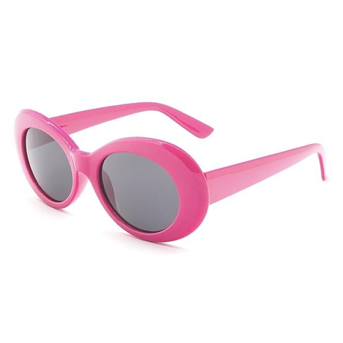 b96c381174 C P Clout Goggles Oval Glasses NIRVANA Kurt Cobain Sunglasses Retro Mod Thick  Frame Alien Shades UV400