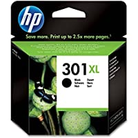 HP CH563EE 301XL High Yield Original Ink Cartridge, Black, Pack of 1