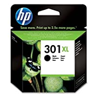 HP 301XL High Yield Original Ink Cartridge - Black