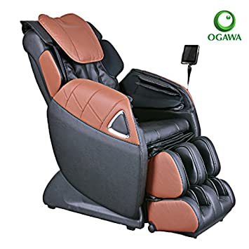 Ogawa Refresh Plus Massage Chair (Black U0026 Cappuccino)