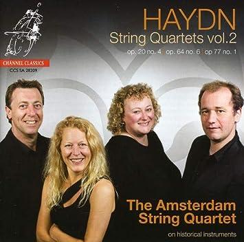 Amsterdam String Quartet Haydn String Quartets Vol 2 Amazon