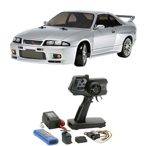 【セット商品】 タミヤ 1/10 電動RCカーシリーズ No.604 NISSAN スカイライン GT-R R33 + ファインスペック 2.4G 電動RCドライブセット B01M7X44FQ