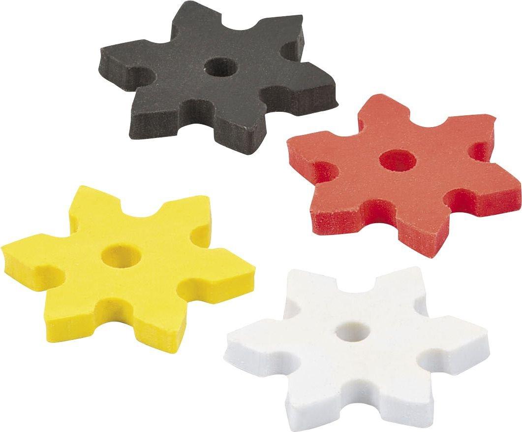 48 Piece Fun Express Ninja Star Erasers
