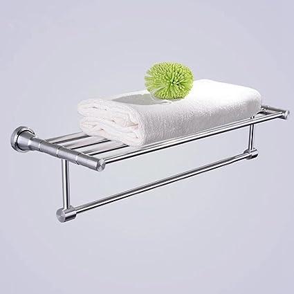Aoliei Luz Dibujo toallero Hotel Espacio Aluminio toallero baño Hardware Colgante 61cm