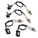 TFCFL 4PCs Air Fuel Ratio Up/Downstream Oxygen Sensor fit for 99-02 Chevrolet Silverado