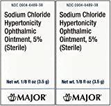 Sodium Chloride 5% Ophthalmic Ointment 0 .12