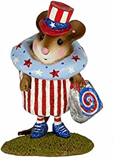 product image for Wee Forest Folk M-574i July 4th Cupcake Treat (July 4th 2017 Limited)