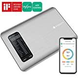 Etekcity Nutrition Food Scale, Smart Digital Kitchen Scale, App-Enabled Macros Keto Scale with Nutrition Facts Display, Tracking Calories Intake, Bluetooth, Silver