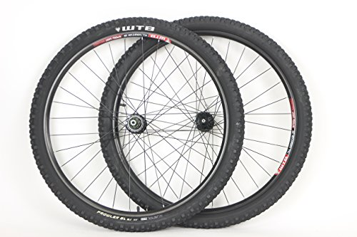 WTB 29 inch 29er Speed Disc All Mountain Rims with Prowler SL 29 x 2.10 Tires Tubes and Sealed Bearing Disc Brake ()