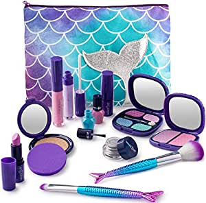 Make it Up Maquillaje Falso para niñas Colección de Sirena: Amazon.es: Juguetes y juegos
