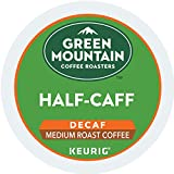 : Green Mountain Coffee Roasters Half-Caff Keurig Single-Serve K-Cup Pods, Medium Roast Coffee, 72 Count (6 boxes of 12 Pods)
