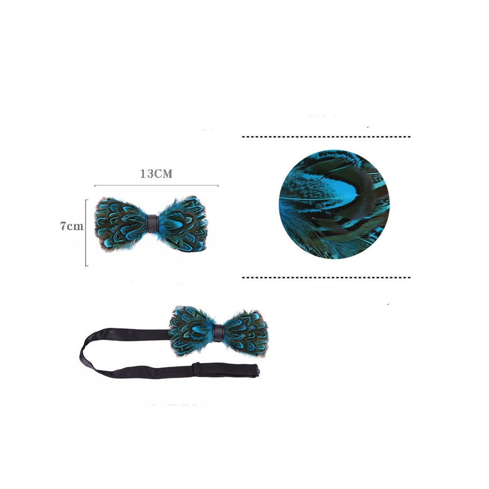 582a005338c7 Bow Ties Green Series #1 KOOELLE Christmas Bow Ties for Mens Novelty Patern  Jacquard Self Bowtie