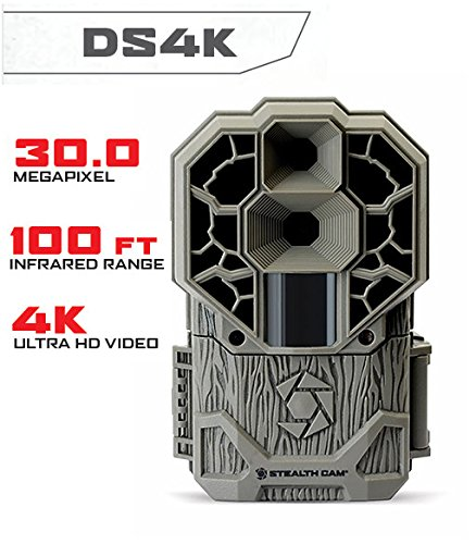 Stealth Cam Dual Sensor STC-DS4K Trail Camera (4K Video, 30 MP) 2-Pack
