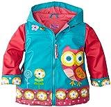 Stephen Joseph Rain Coat, Owl, 3T