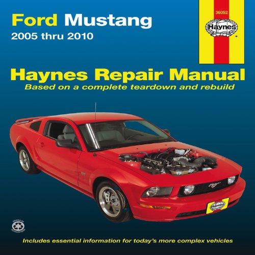ford mustang 2005 thru 2010 haynes repair manual editors of rh amazon com 2005 Mustang Manual Transmission 2004 mustang owners manual pdf