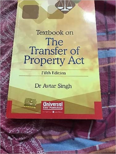 Textbook on the Transfer of Property Act: Amazon in: Avtar