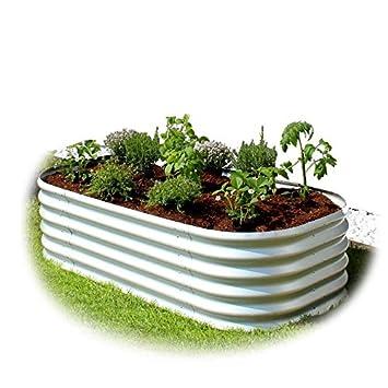 Gartenpirat Hochbeet Aus Metall Alu Zink Beschichtet 162 X 82 X 40