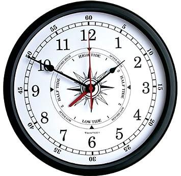 Trintec Atlantic Time Tide Indicator Wall Clock 14 White Dial TTW-02-14