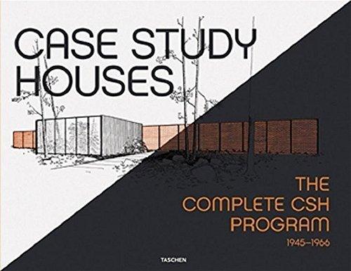 Case Study Houses. The Complete CSH Programm 1945-1966. Dtsch.-Engl.-Französ.