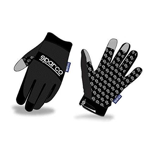 (Sparco SP2104XLNR Meca-3 Black XL Glove )