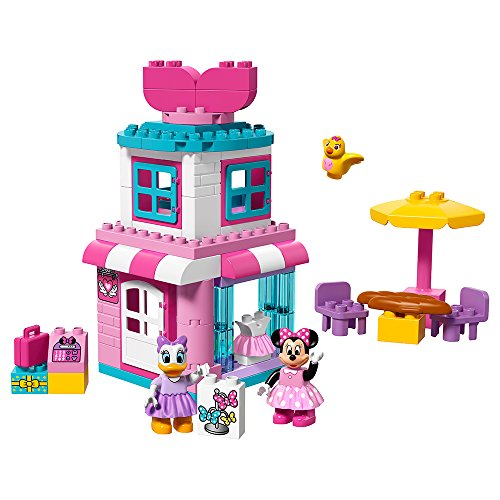 LEGO DUPLO Brand Disney Minnie Mouse Bow-Tique 10844 Building Kit (70 Piece) (Minnie Mouse Ideas)