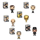 Funko Pop Movies James Bond Agent 007 - Roger Moore, Sean Connery, Jill Masterson, Blofeld, Oddjob, Jaws Vinyl Figures Set