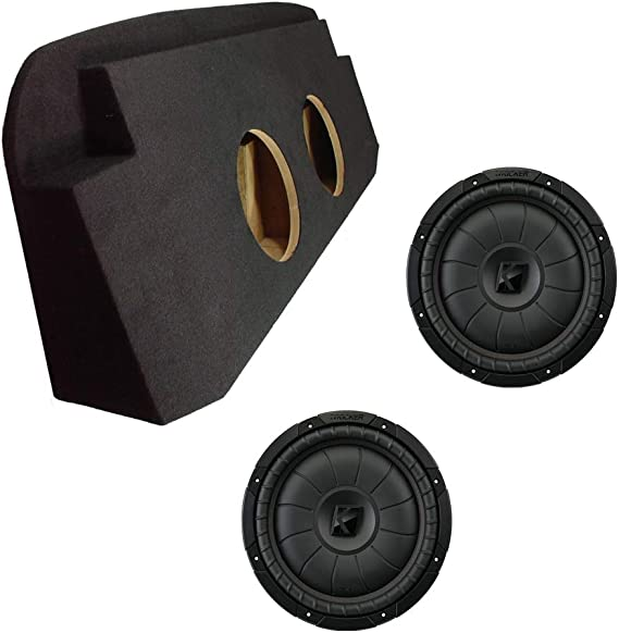 """2002-2013 Chevy Avalanche Custom Fit Dual 12/"""" Stereo Subwoofer Enclosure Sub Box"""