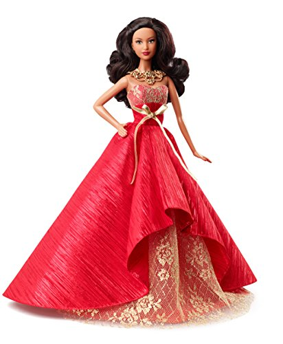 Barbie Collector 2014 - Barbie Collector 2014 Holiday African-American Doll