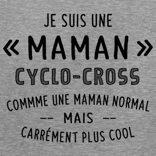 une maman normal cyclocross - Femme T-Shirt - Gris - S
