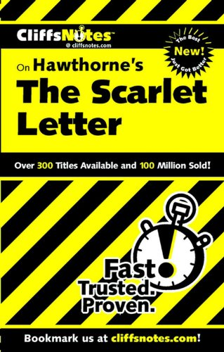 CliffsNotes on Hawthorne's The Scarlet Letter (Cliffsnotes Literature Guides)