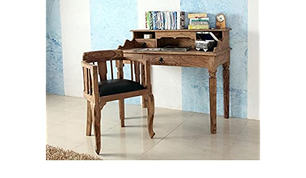 Secreter de Madera Maciza de Escritorio Mesa cómoda Auxiliar Muebles Bombay I: Amazon.es: Juguetes y juegos