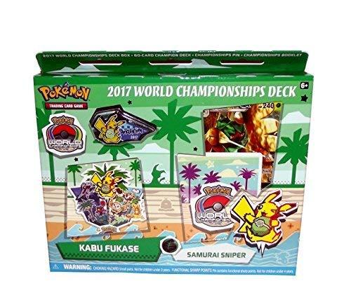 Pokemon Trading Card Game 2017 World Championship Deck Set (Kabu Fukase's Samurai Sniper (Feat. Decidueye))