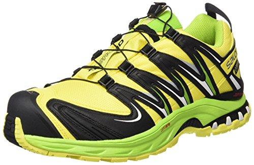 Salomon Xa Pro 3d Gtx, Zapatillas de Trail Running para Hombre Amarillo (Corona Yellow / Granny Green / White)