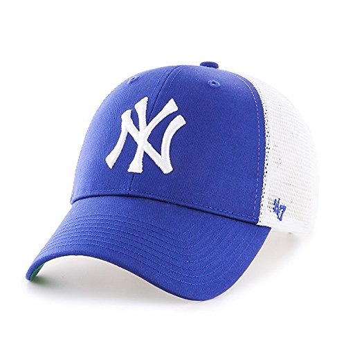 d6bbc9752 Amazon.com: '47 Brand MLB New York Yankees Branson Cap - Royal Blue ...