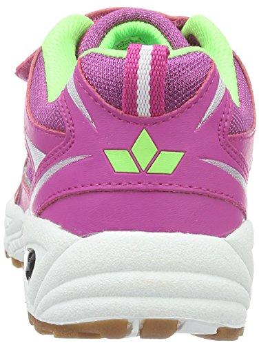 Lico Bob Vs, Zapatillas Deportivas para Interior para Niñas Rosa (Pink/Lemon)