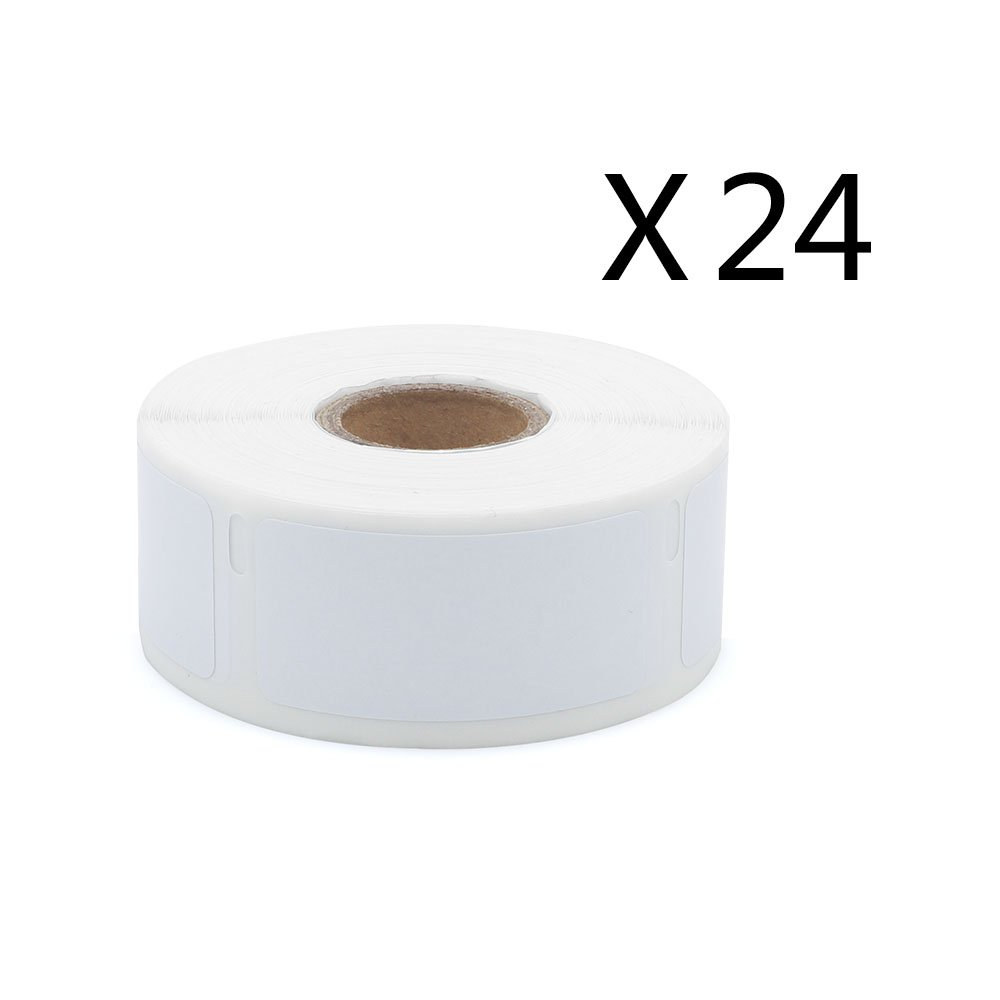 30336 24 Rolls Dymo-Compatible Barcode Mailing LW Labels 25mm x 54mm (1'' X 2 1/8) 500/Roll for LabelWriter 400 450 Duo Twin Turbo Printer