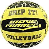 Flash Sales Wave Runner Grip It Volleyball- 8-Inch All Weather Volleyball with Sure-Grip Technology | Perfect Ball for Indoor & Outdoor Play! (Assorted colors)