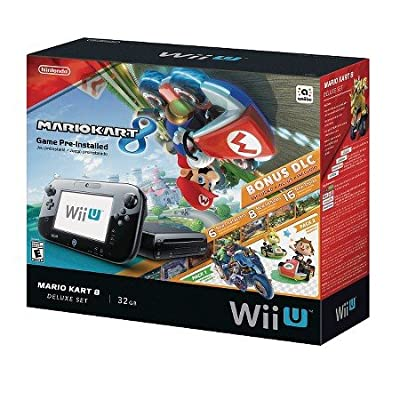 Nintendo Mario Kart 8 Deluxe Set with DLC Wii U Bundle by Nintendo