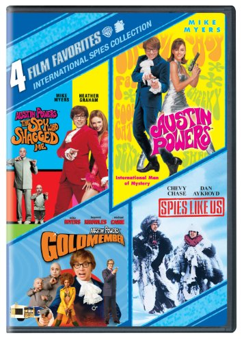 4 Film Favorites: International Spies (Austin Powers in - Chevy Chase Dvd Collection