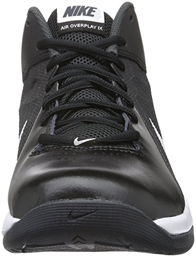 Nike The Air Overplay Ix - Zapatillas unisex, color negro / blanco