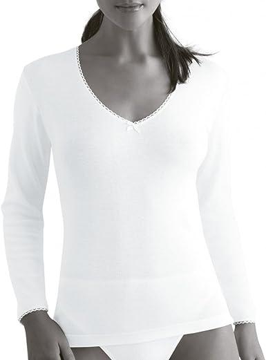 Princesa 48 - Camiseta termica Mujer: Amazon.es: Ropa y accesorios